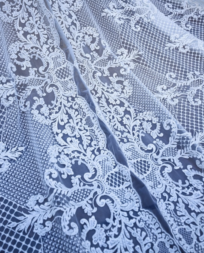 mermaid millinity bridal couture wedding dress | hire wedding dress