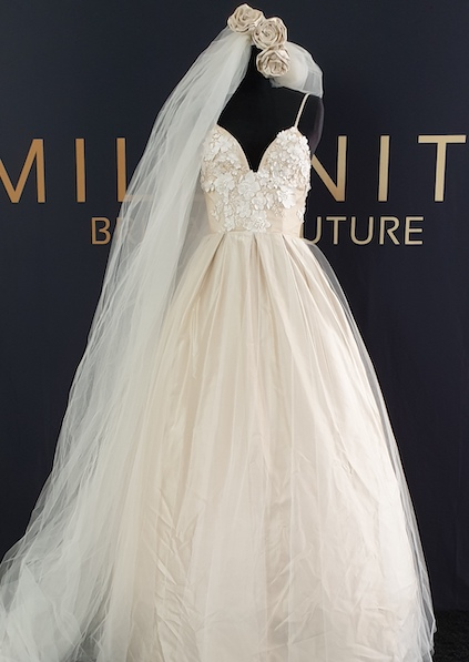 preloved millinity bridal wedding dress gold coast