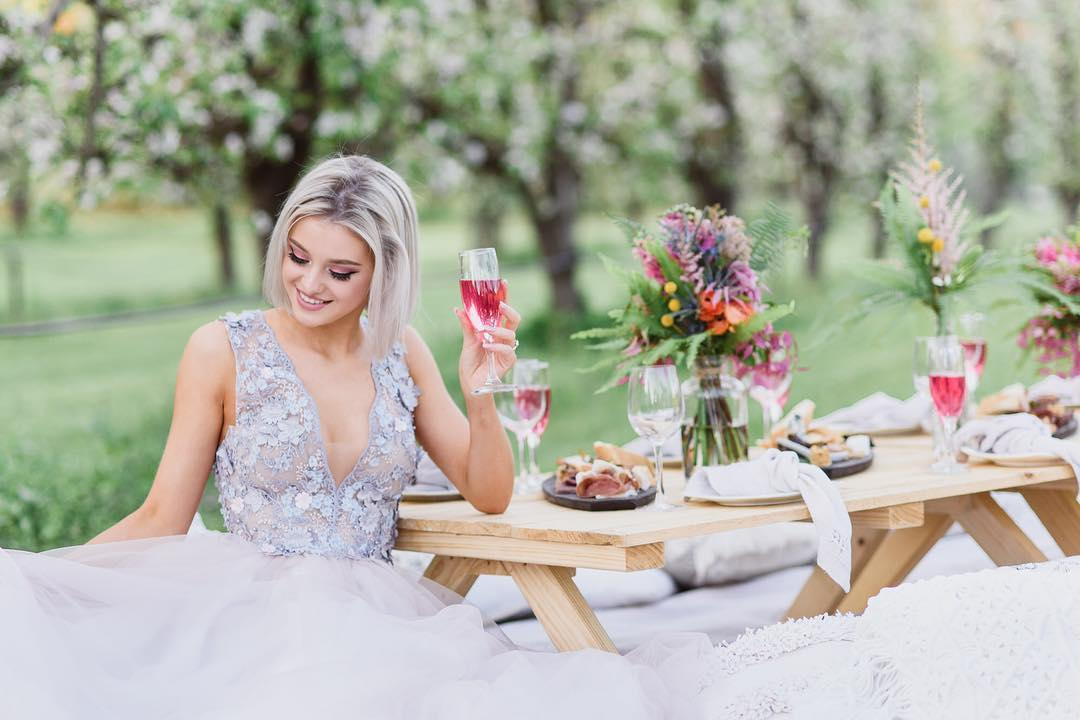 garden wedding ideas | Spring wedding ideas
