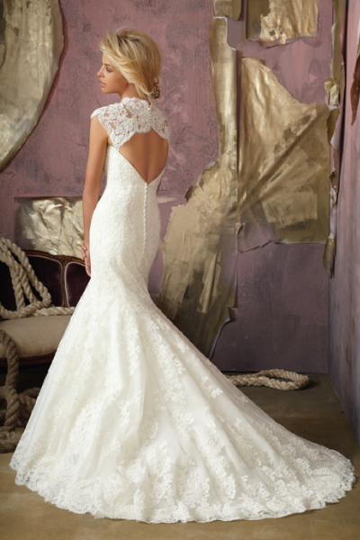 Size 14 mori lee wedding dress | secondhand wedding dress
