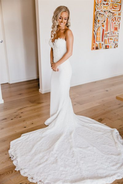Enzoani wedding dress | preloved wedding dress