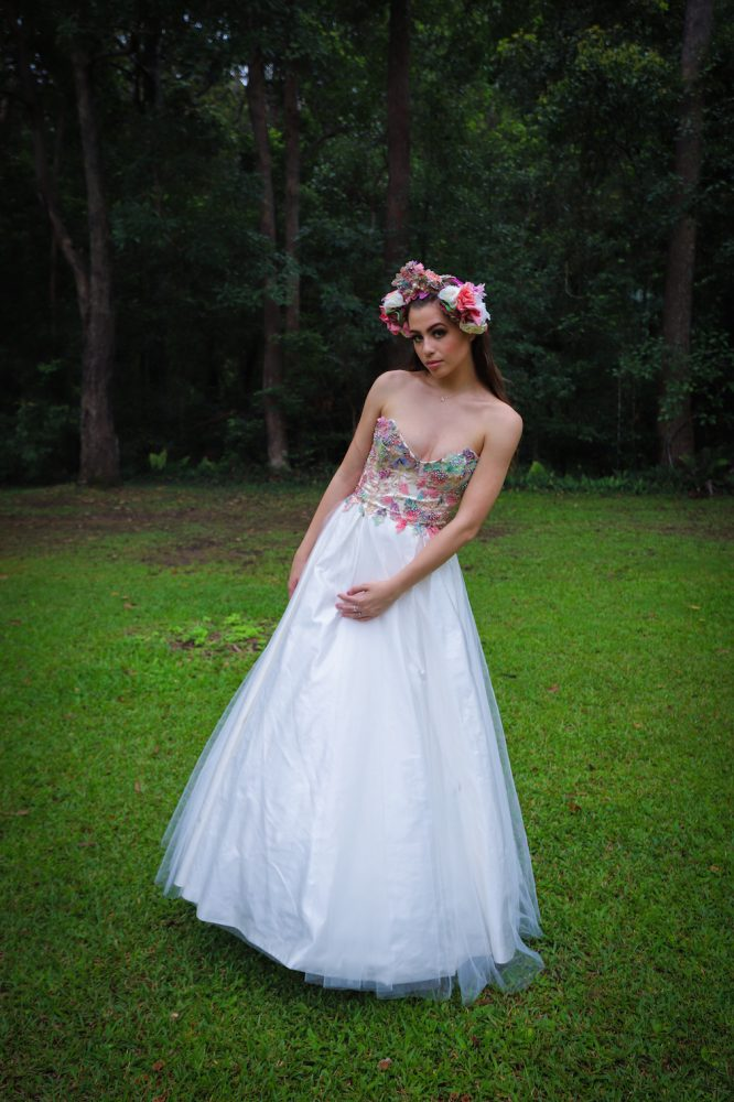 size 8 millinity bridal wedding dress | preloved wedding dress