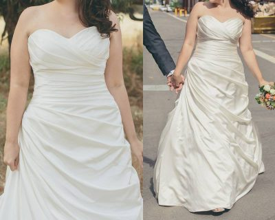 tuscany bridal wedding dress | preloved wedding dress