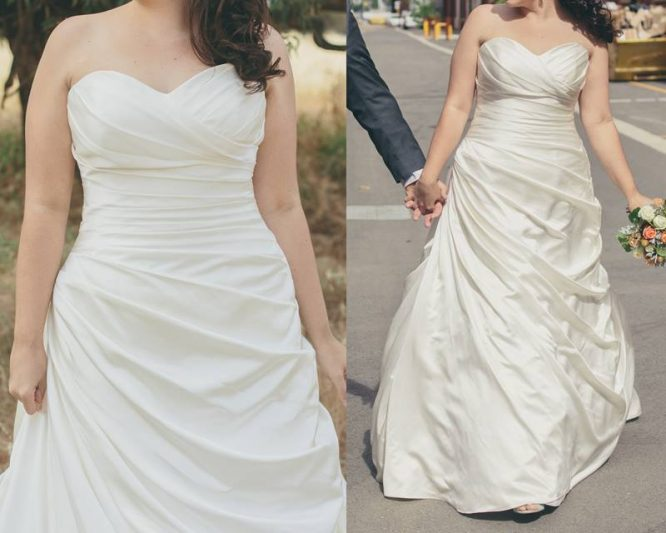 tuscany bridal wedding dress | preloved wedding dress