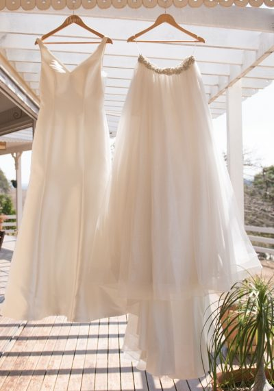minimal wedding dress | preloved wedding dress