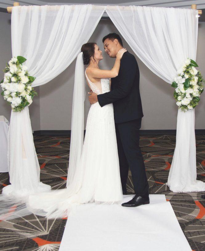 preloved aline wedding dress darwin