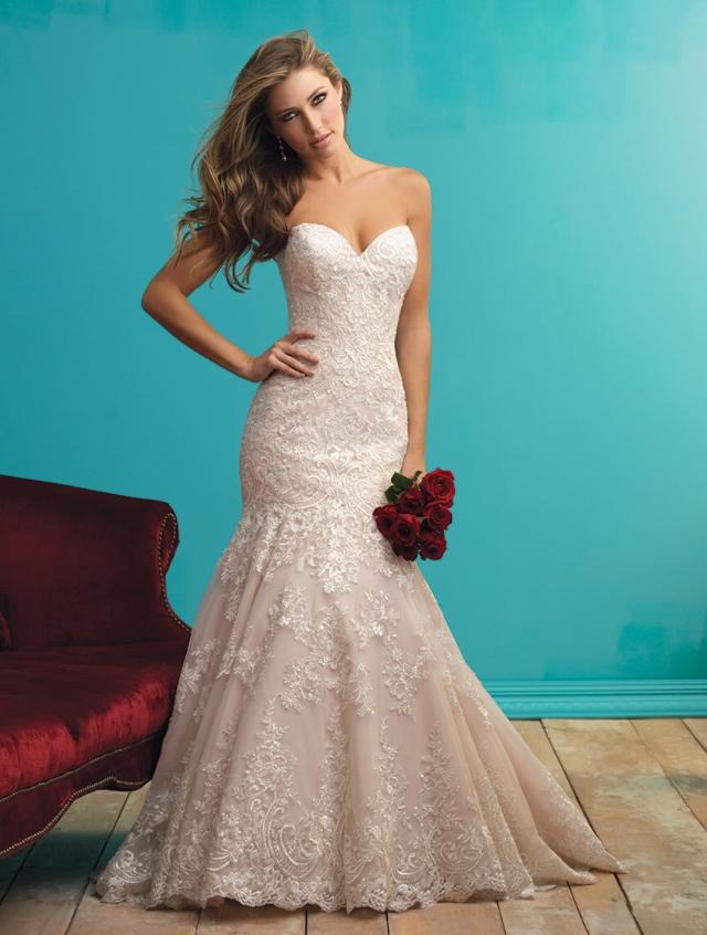 9261 allure bridals wedding dress | secondhand wedding dress