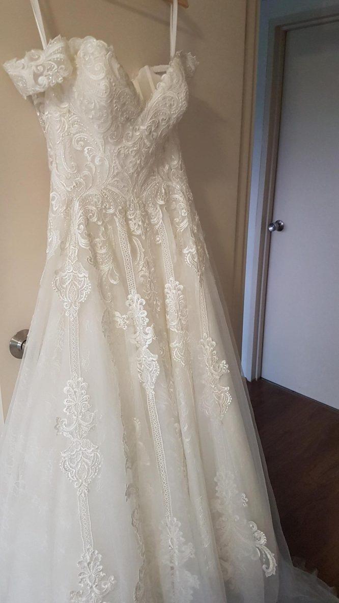 ivory allure bridal wedding dress | wedding dress hire sydney