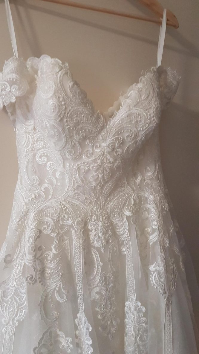 size 8 allure bridal wedding dress | sell my wedding dress