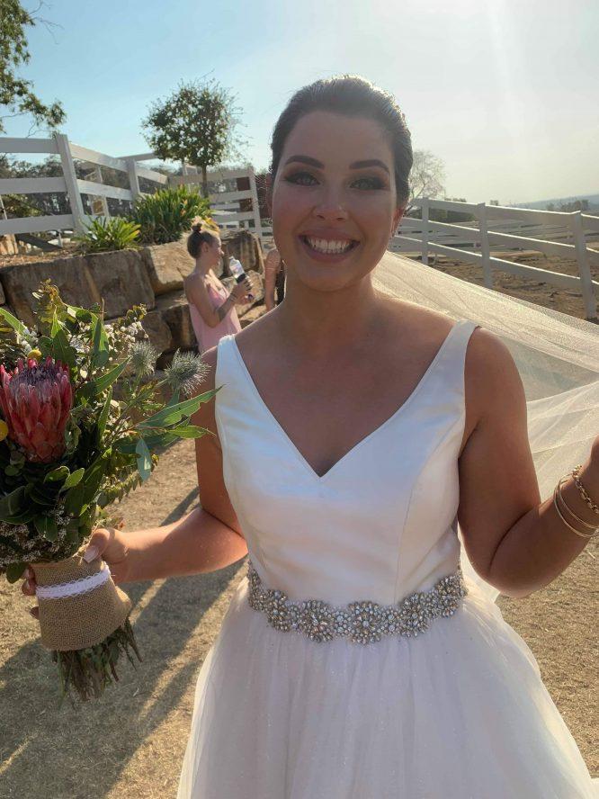 preloved minimal wedding dresses brisbane