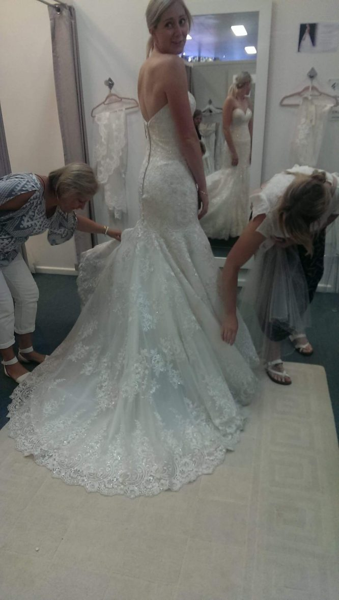 ivory allure bridal wedding dress | sell my wedding dress