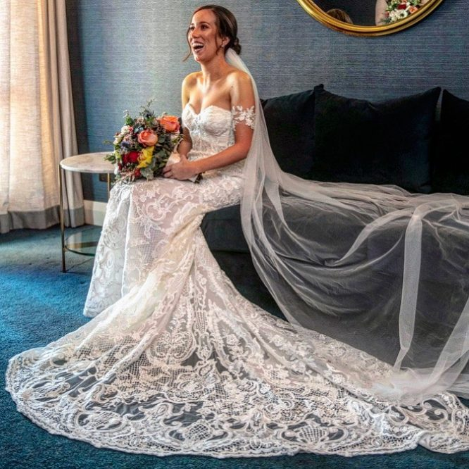 made with love isla wedding dress | preloved wedding dress