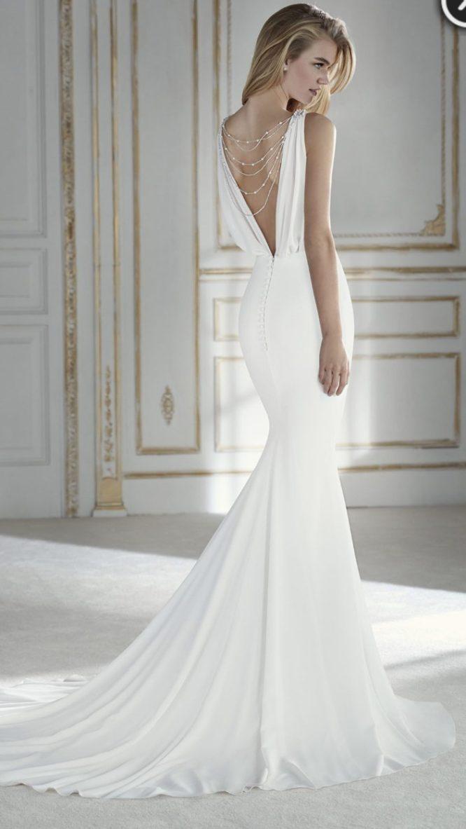 georgette st patrick wedding dress | second hand wedding dresses sydney
