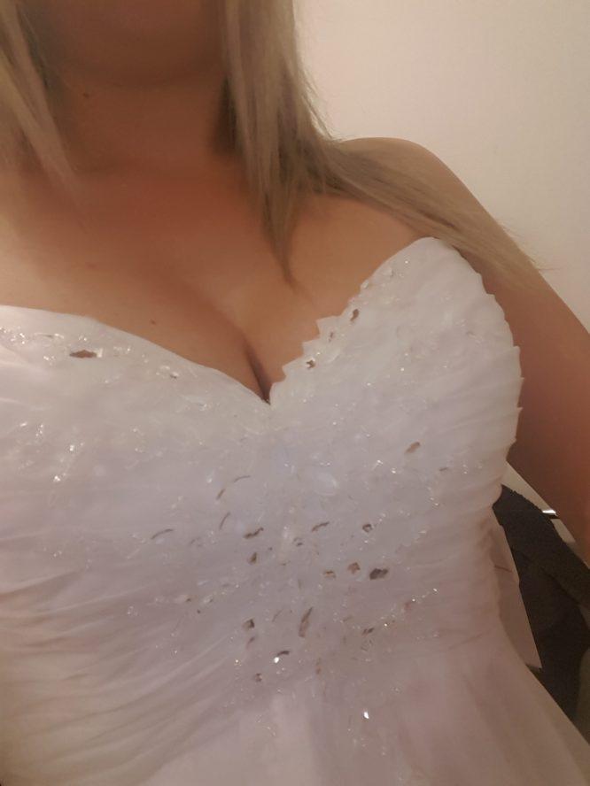 white madison james wedding dress | sell my wedding dress